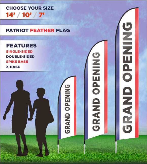 Grand Opening Banners and Flags
