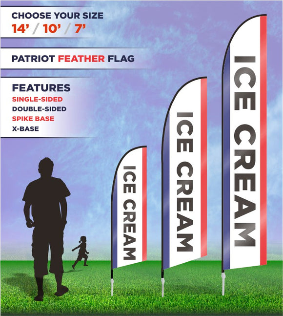 Ice Cream Flags and Banners