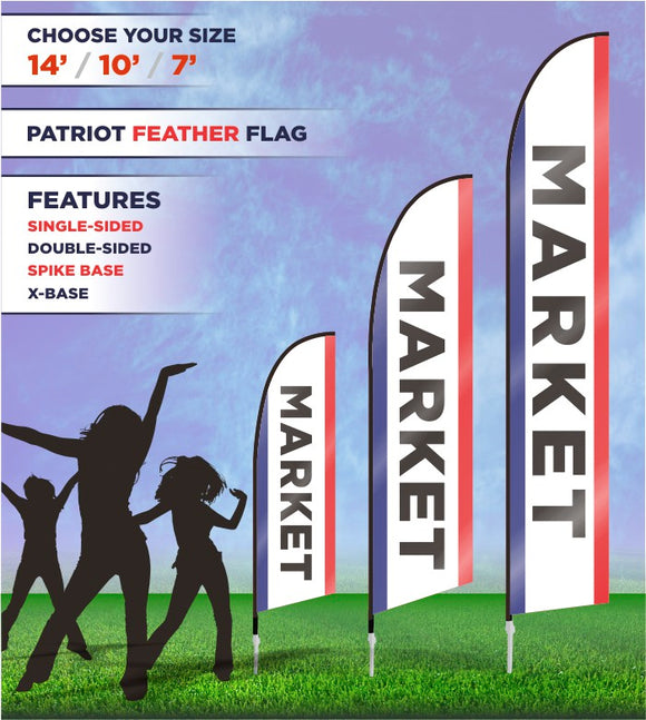 Market Flags and Banners