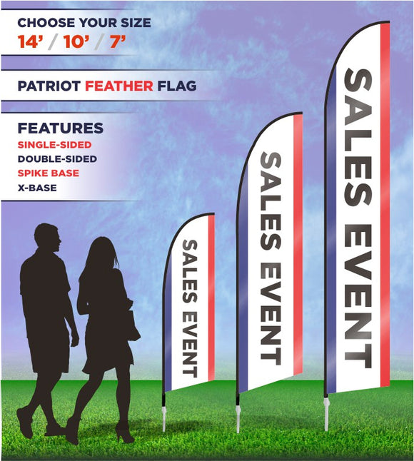 Sales Event Flags and Banners