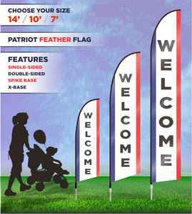 Welcome Flags and Banners