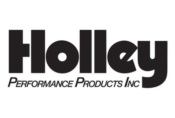 Holley Performace Products Decal
