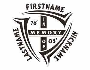 Custom In Memory Decal
