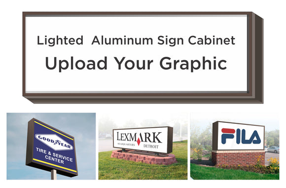 Lighted Sign Cabinets