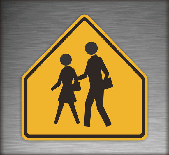 Pedestrian Cross Walk Sign