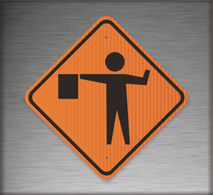 Sign / Construction: Flagger Symbol