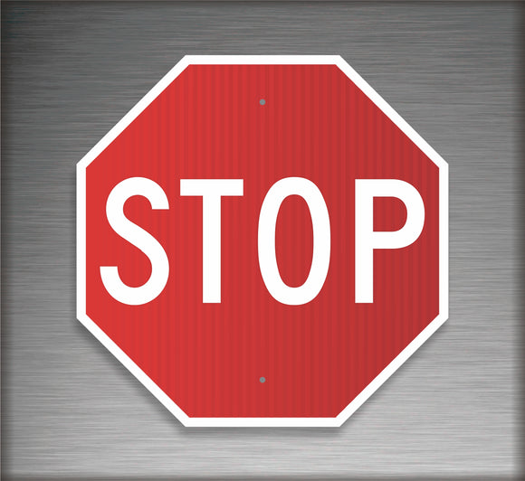 Sign / Regulatory: STOP