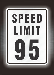 Reflective Speed Limit Signs