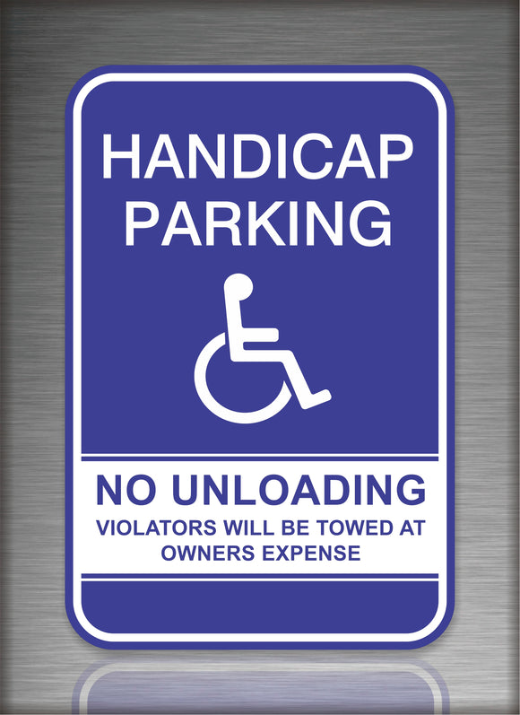 Handicap Parking No Unloading