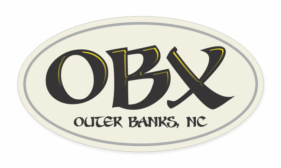 OBX Decal Fun Script Orient Xpress