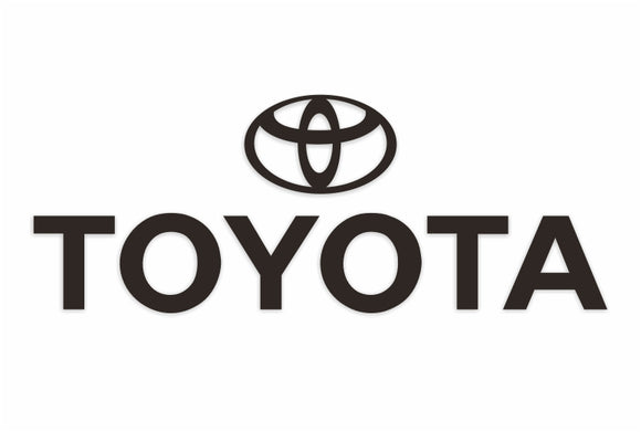 Toyota Text Decal