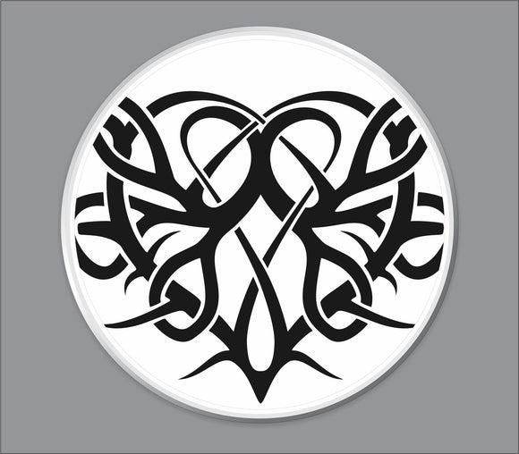 Tribal Design Bass Drum Head