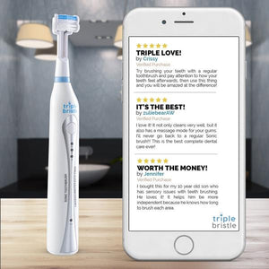 Triple Bristle Original Sonic Toothbrush - ocu