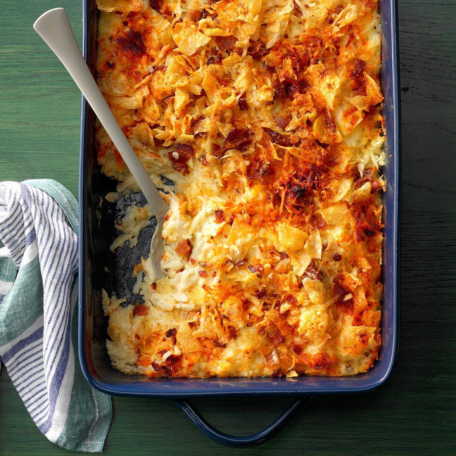 Pepper Jack Potato Casserole