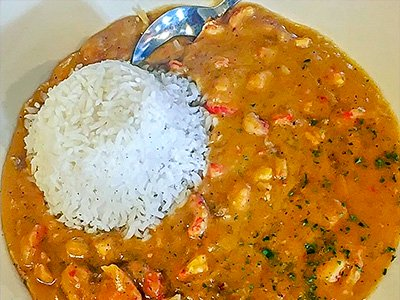 Crawfish Etouffee w/Rice