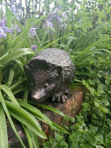 Life-size Hedgehog Ornament Statue Bronze Effect Aluminium Dispatch1-2 Days