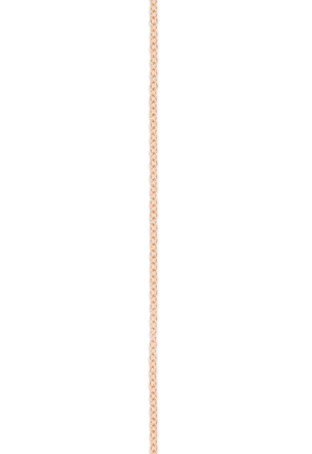 "Effy 14K Rose Gold 1.2mm 20"" Cable Chain"