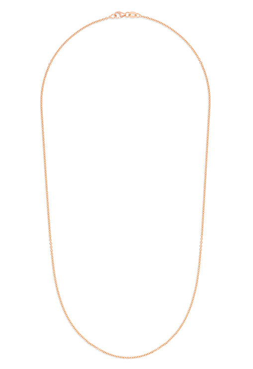 "Effy 14K Rose Gold 1.5mm 18"" Cable Chain"