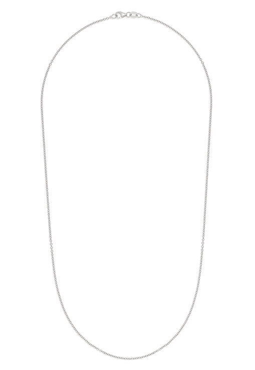"Effy 14K White Gold 1.5mm 20"" Cable Chain"