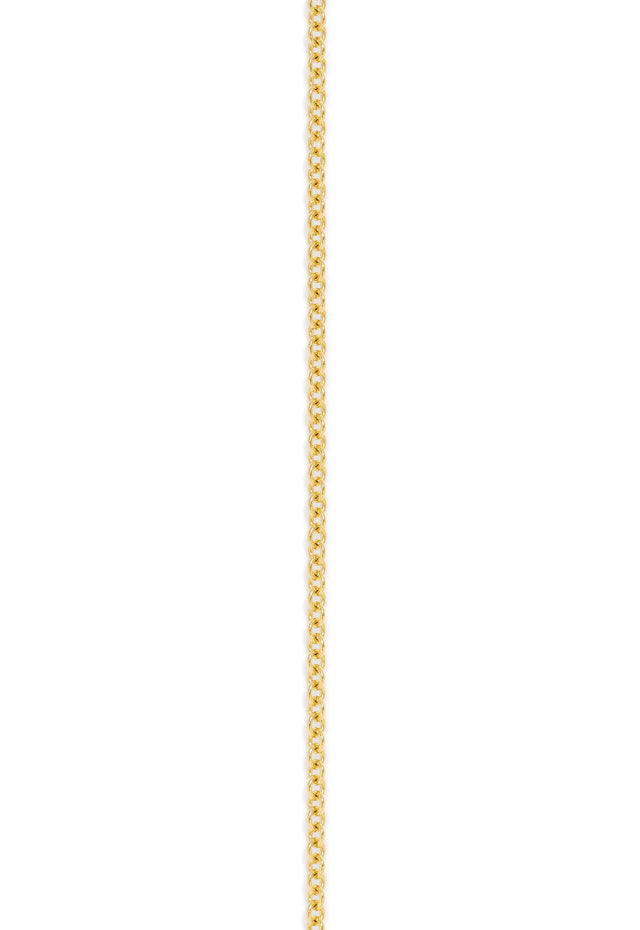 "Effy 14K Yellow Gold 1.5mm 20"" Cable Chain"