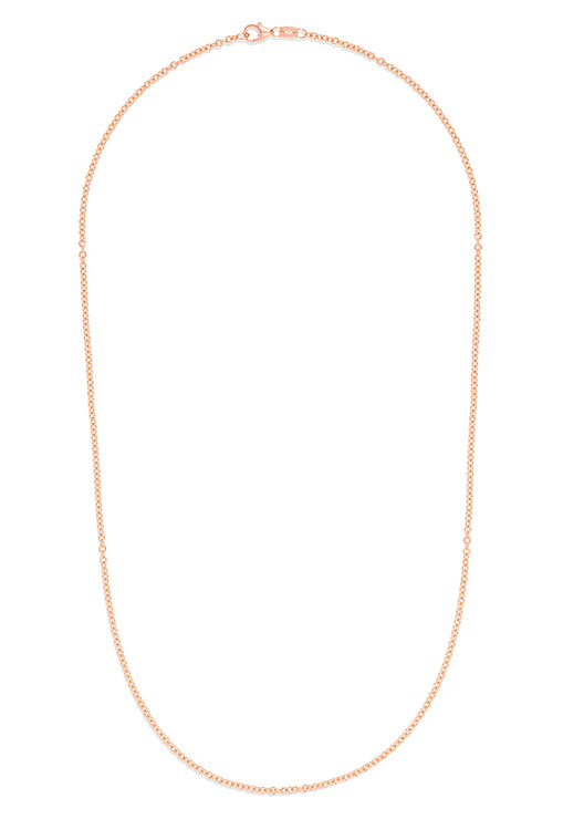 "Effy 14K Rose Gold 2mm 20"" Cable Chain"