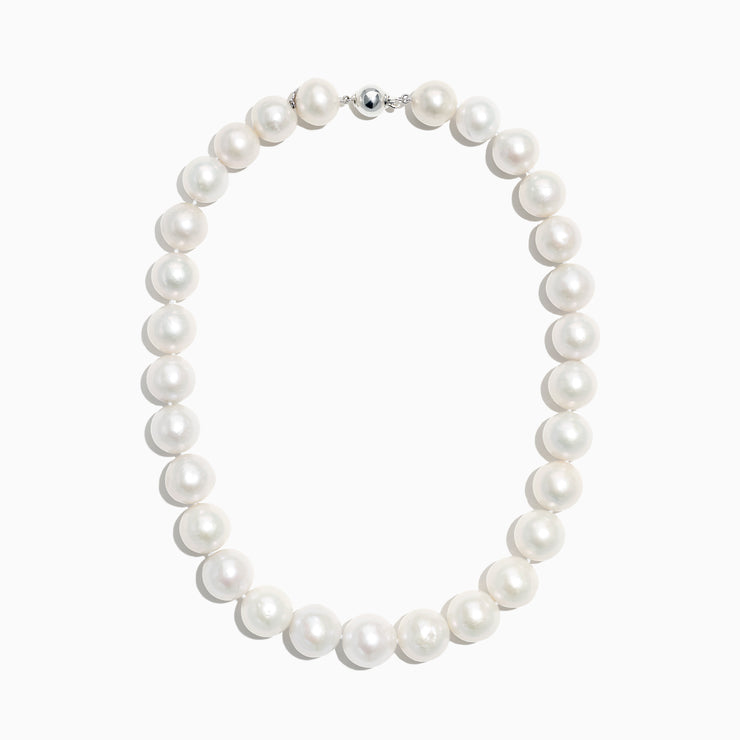 "Effy Cultured Fresh Water Pearl 18"" Necklace with Sterling Silver Clasp"
