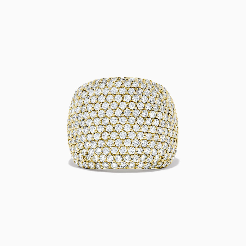 Effy D'Oro 14K Yellow Gold Diamond Pave Ring, 2.41 TCW