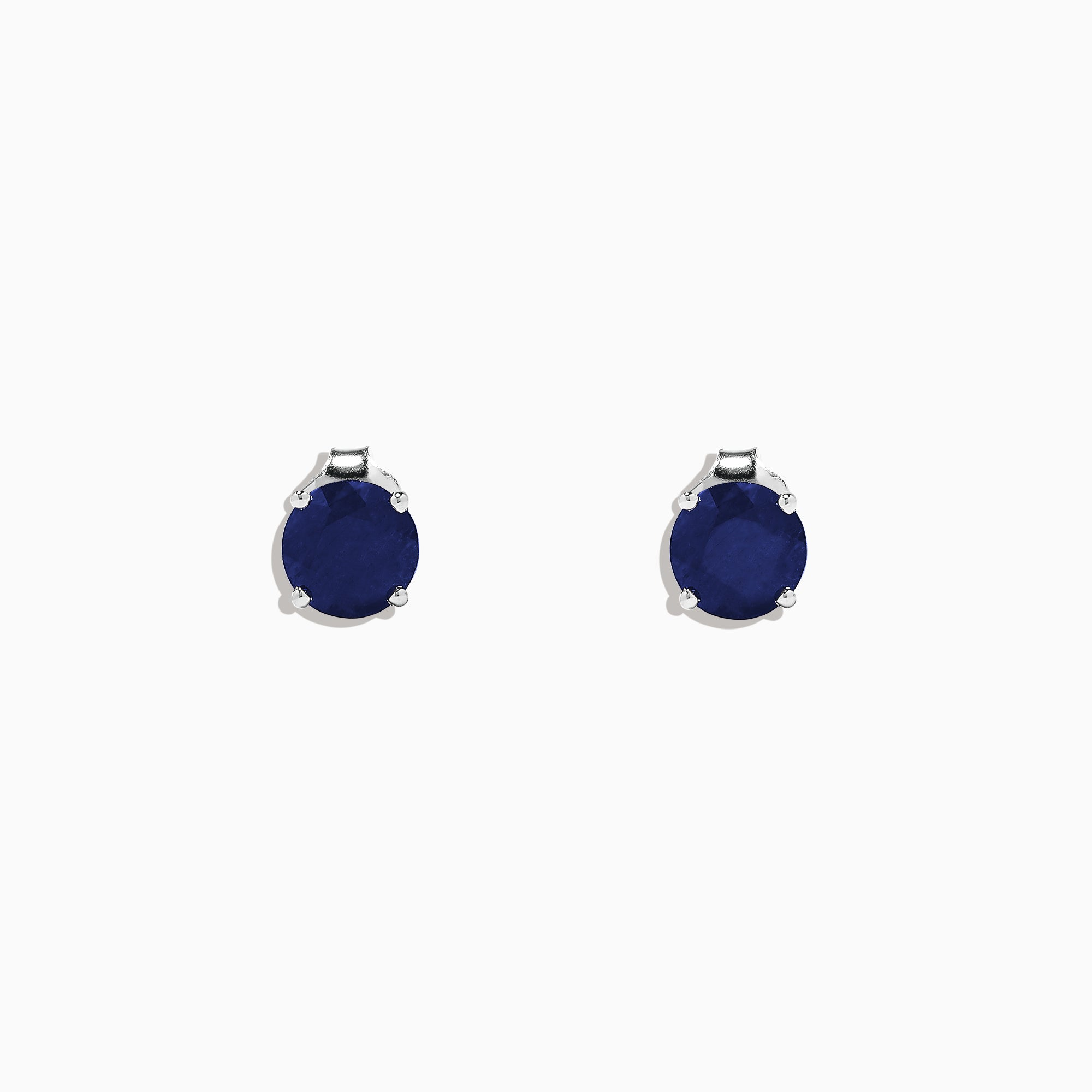Effy Royale Bleu 14K White Gold Sapphire Stud Earrings, 2.00 TCW