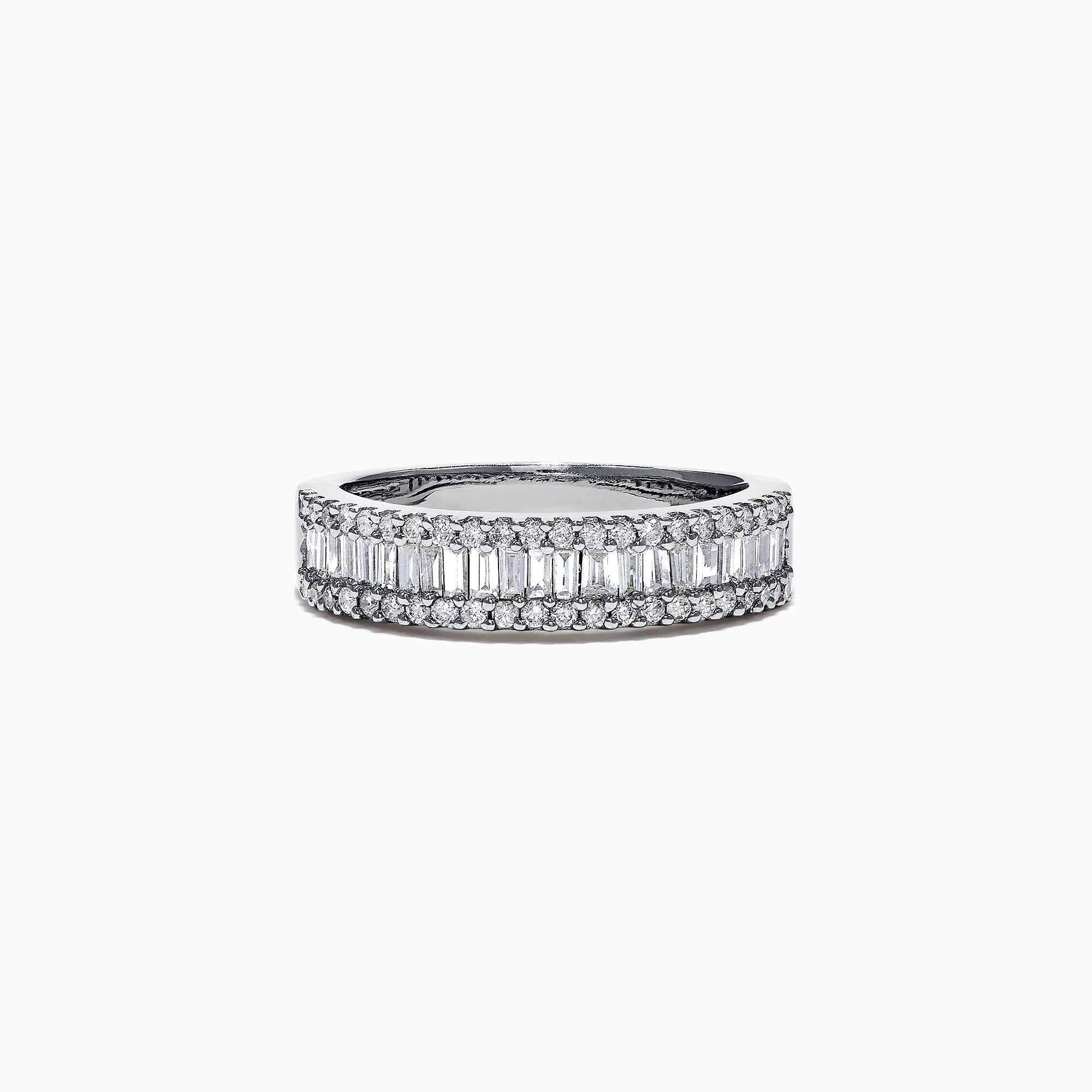 Effy Classique 14K White Gold Diamond Ring, 0.73 TCW