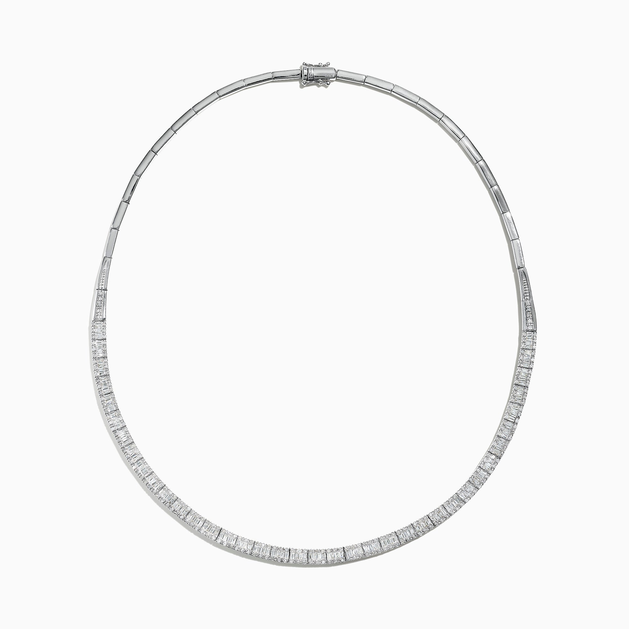 Effy Classique 14K White Gold Diamond Necklace, 4.16 TCW