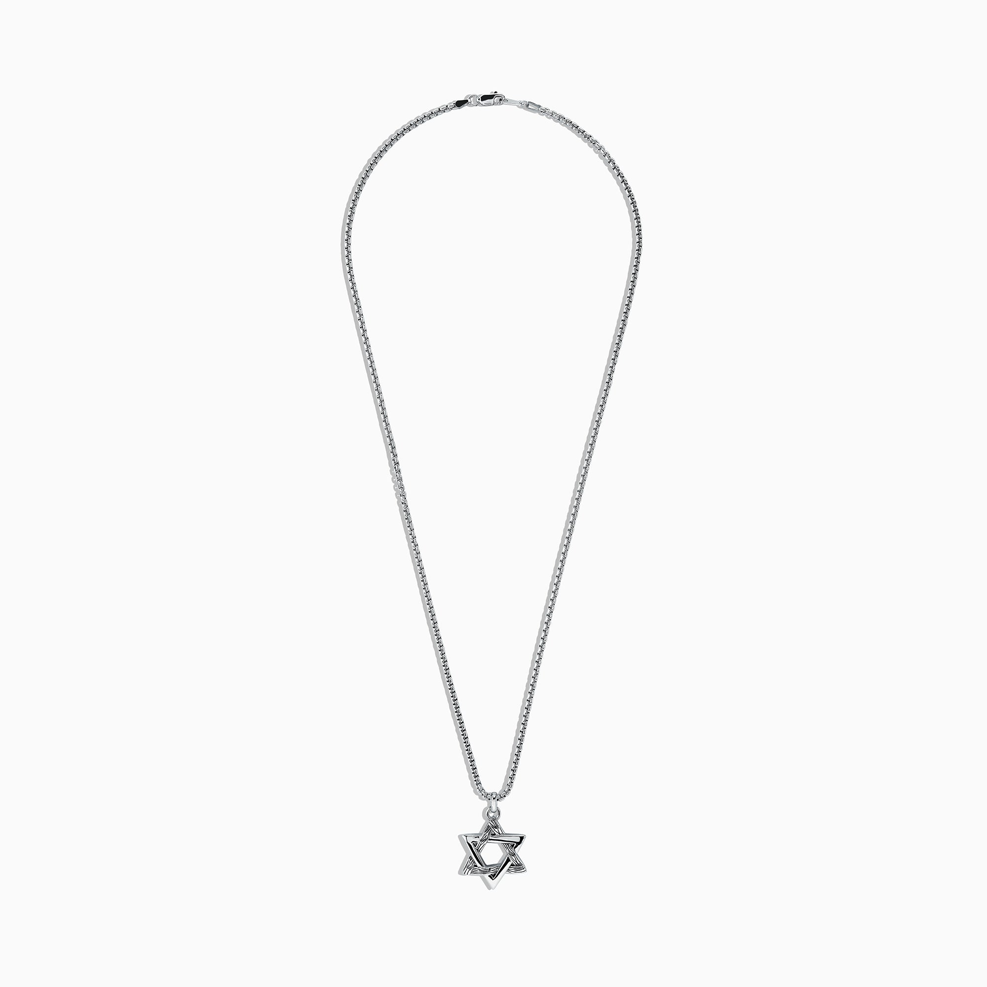 Effy Men's Sterling Silver Star of David Pendant
