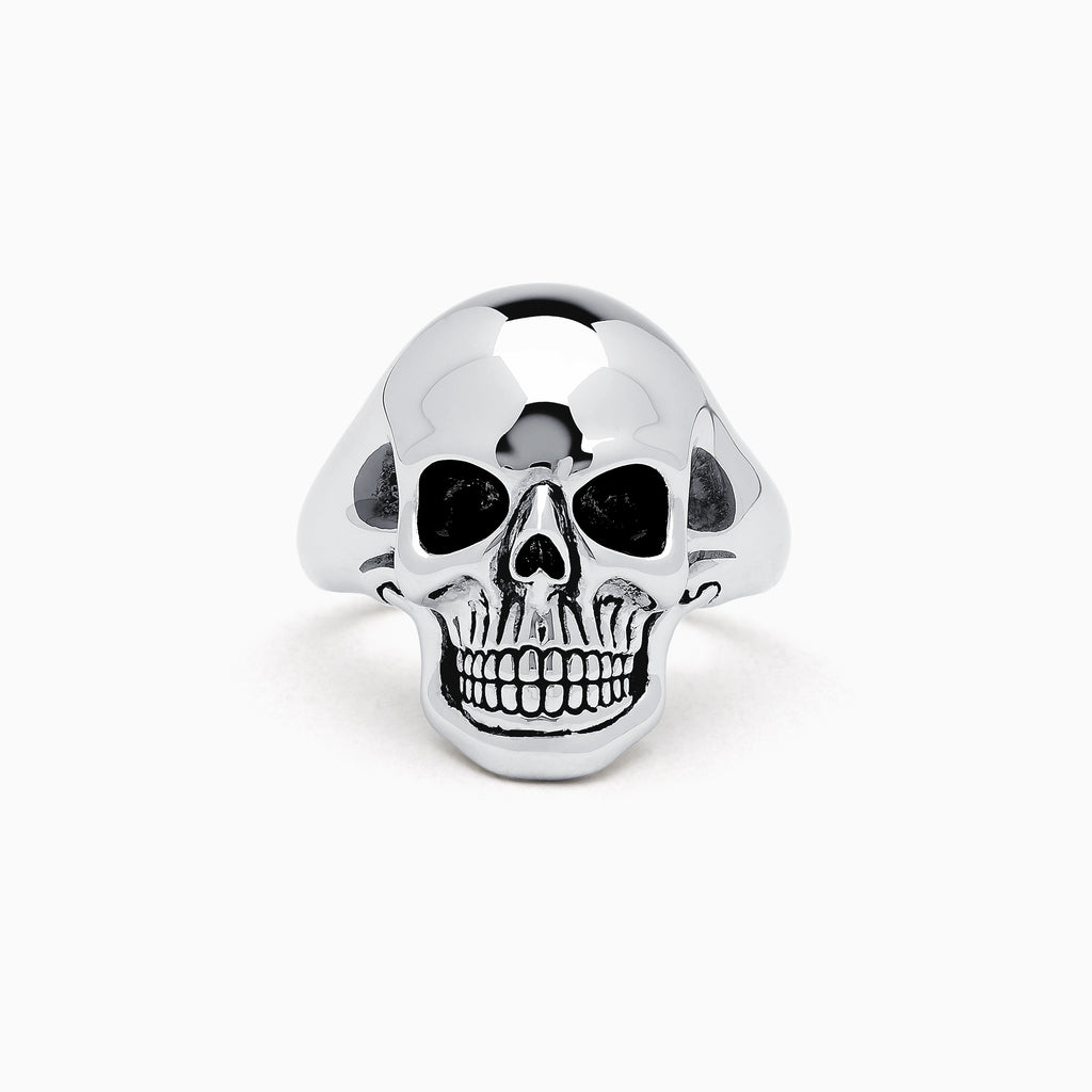 Effy Men's Sterling Silver Skull Ring