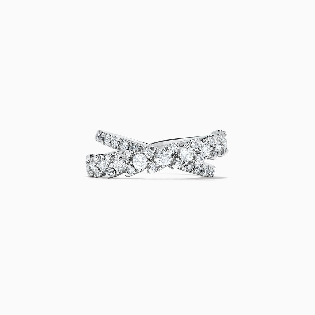 Effy Pave Classica 14K White Gold Diamond Ring, 1.29 TCW