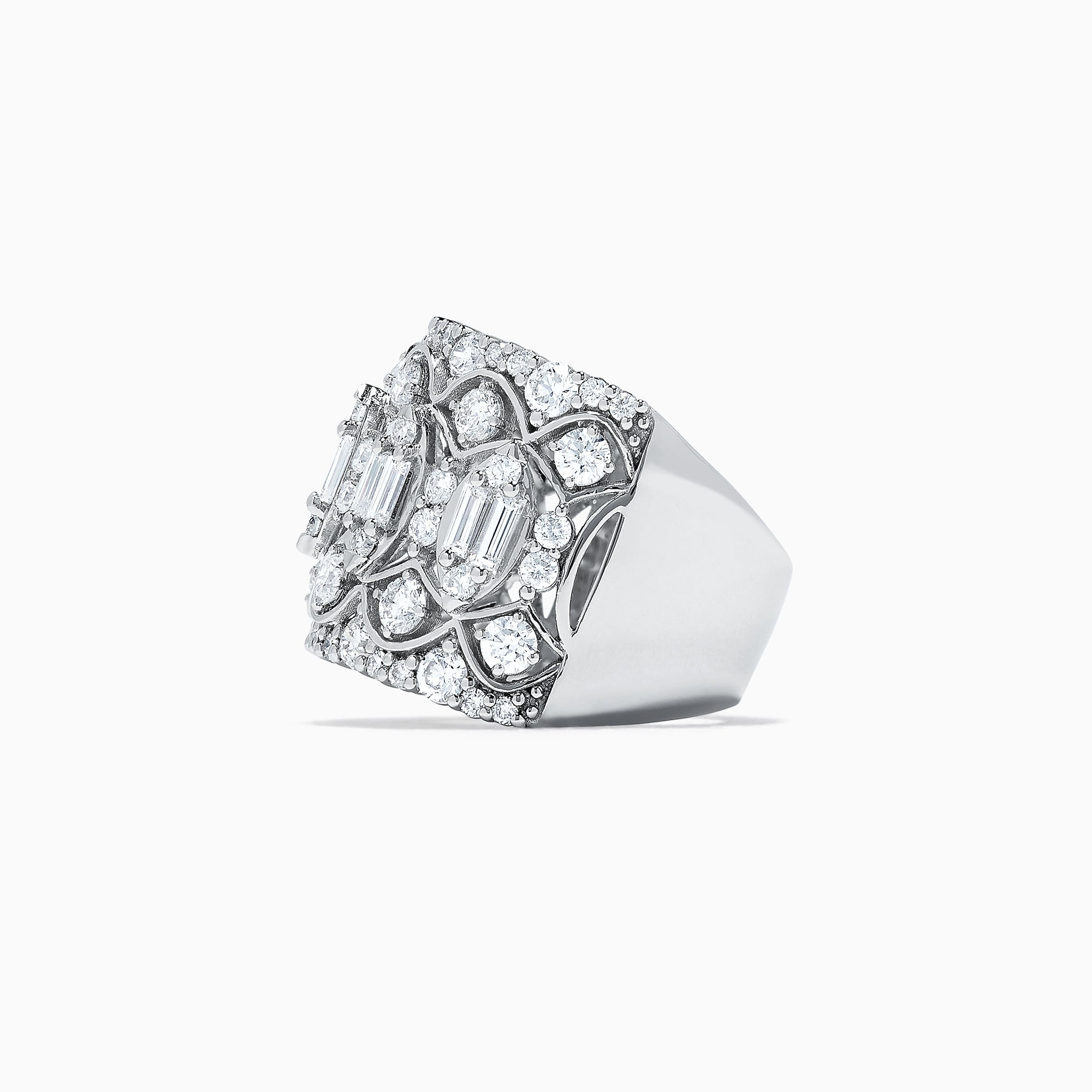 Effy Pave Classica 14K White Gold Diamond Ring, 2.53 TCW