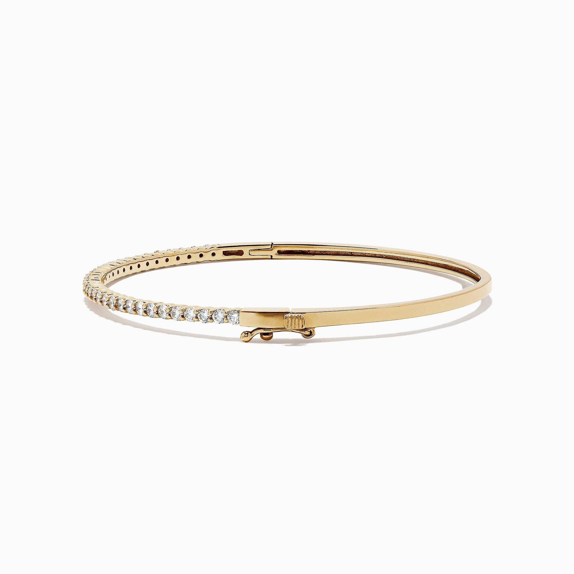 Effy D'Oro 14K Yellow Gold Diamond Bangle, 1.00 TCW