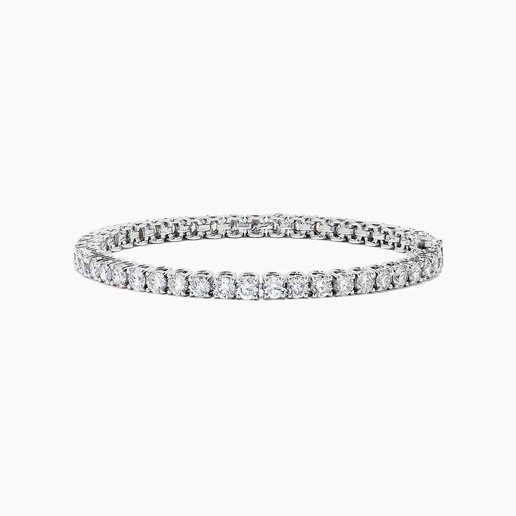 Effy 14K White Gold Diamond Tennis Bracelet, 9.00 TCW
