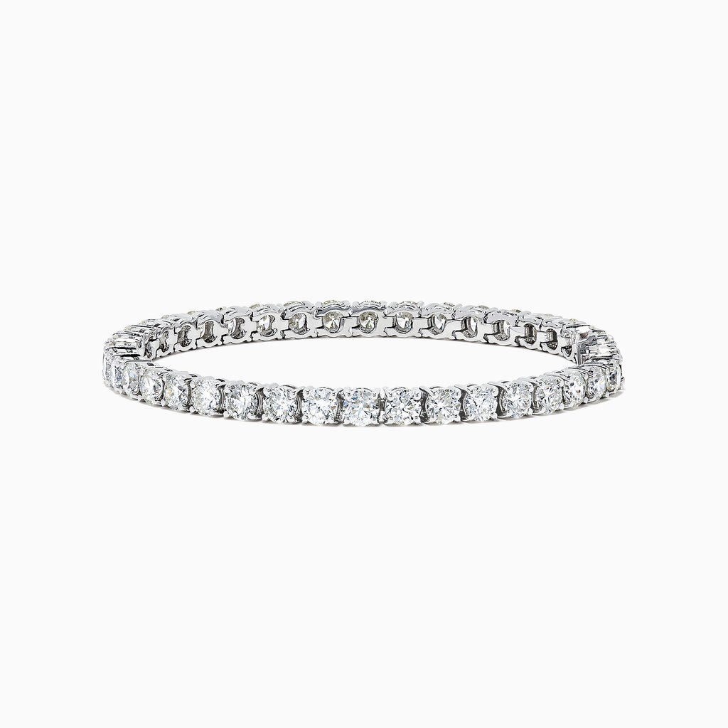 Effy 14K White Gold Diamond Tennis Bracelet, 12.00 TCW