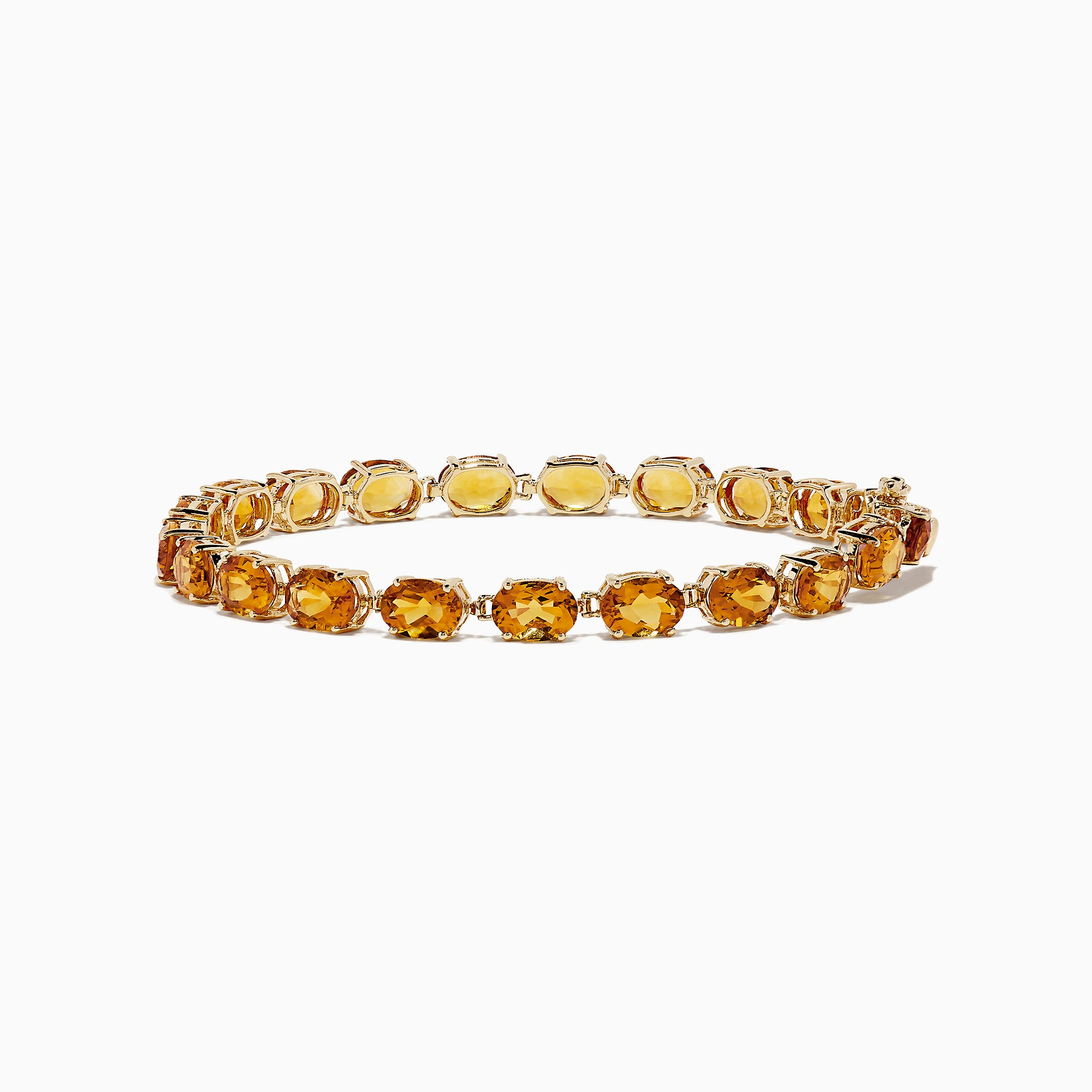 Effy Sunset 14K Yellow Gold Citrine Tennis Bracelet, 15.36 TCW