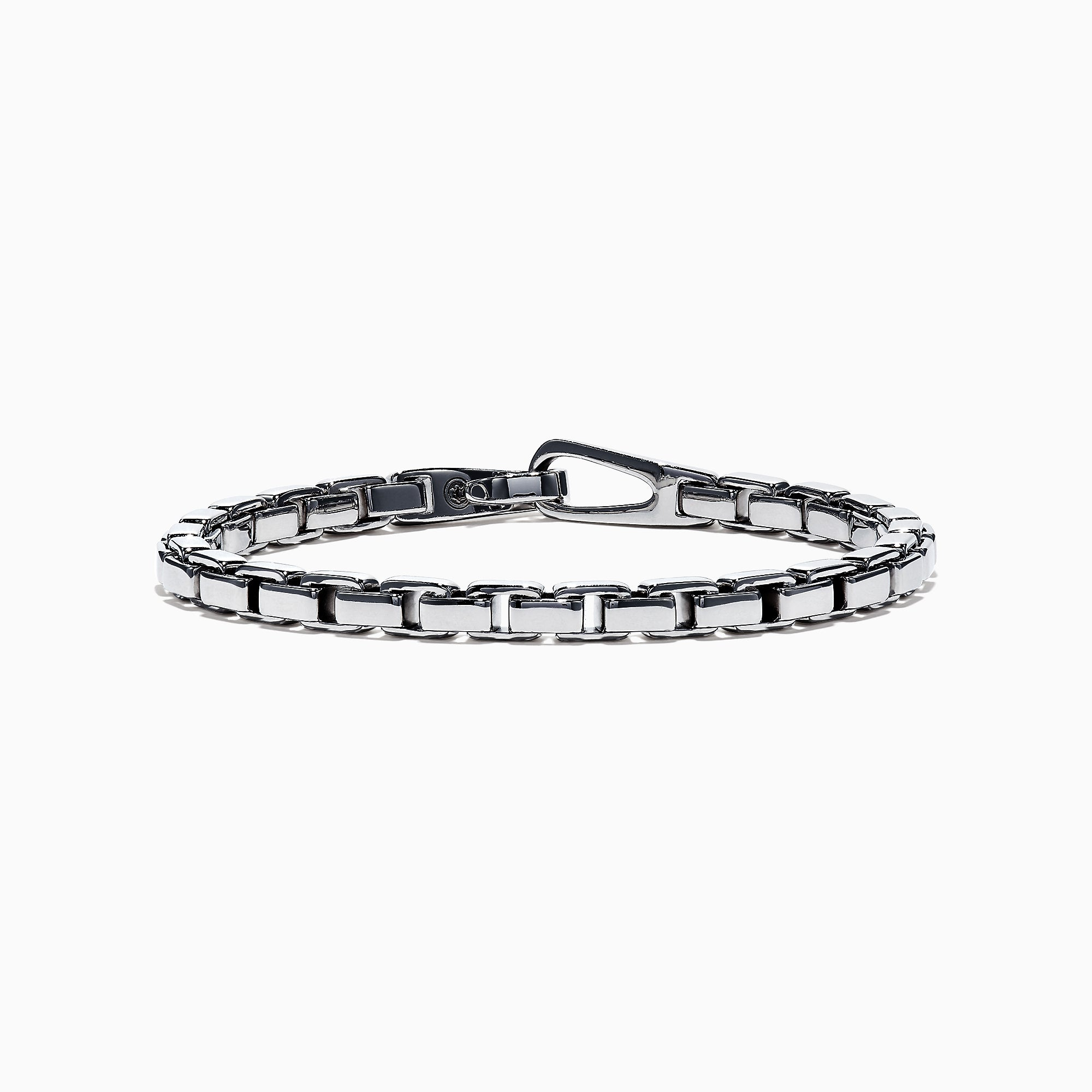 Effy Men's Sterling Silver Box Link Bracelet