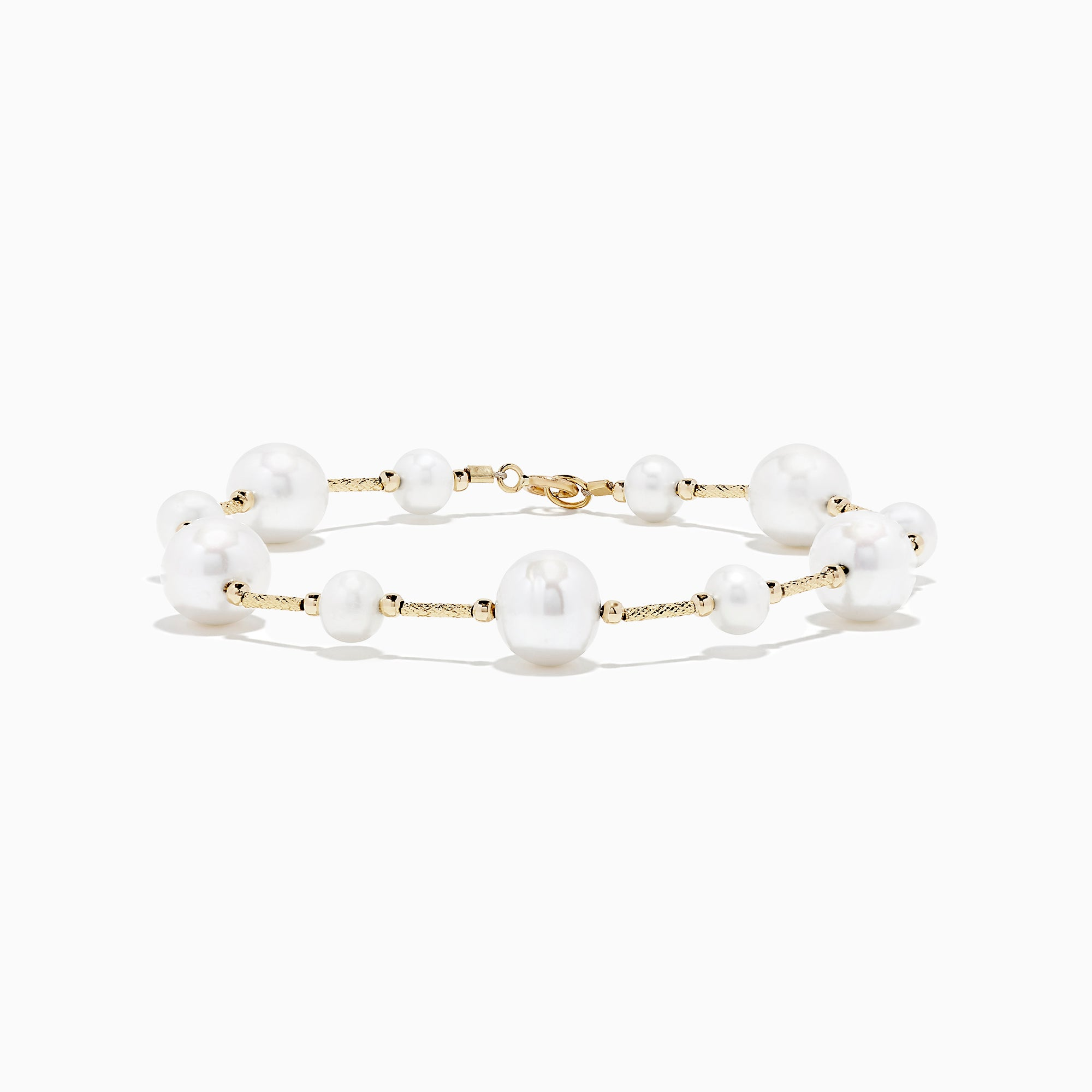 Effy 14K Yellow Gold Pearl Bracelet