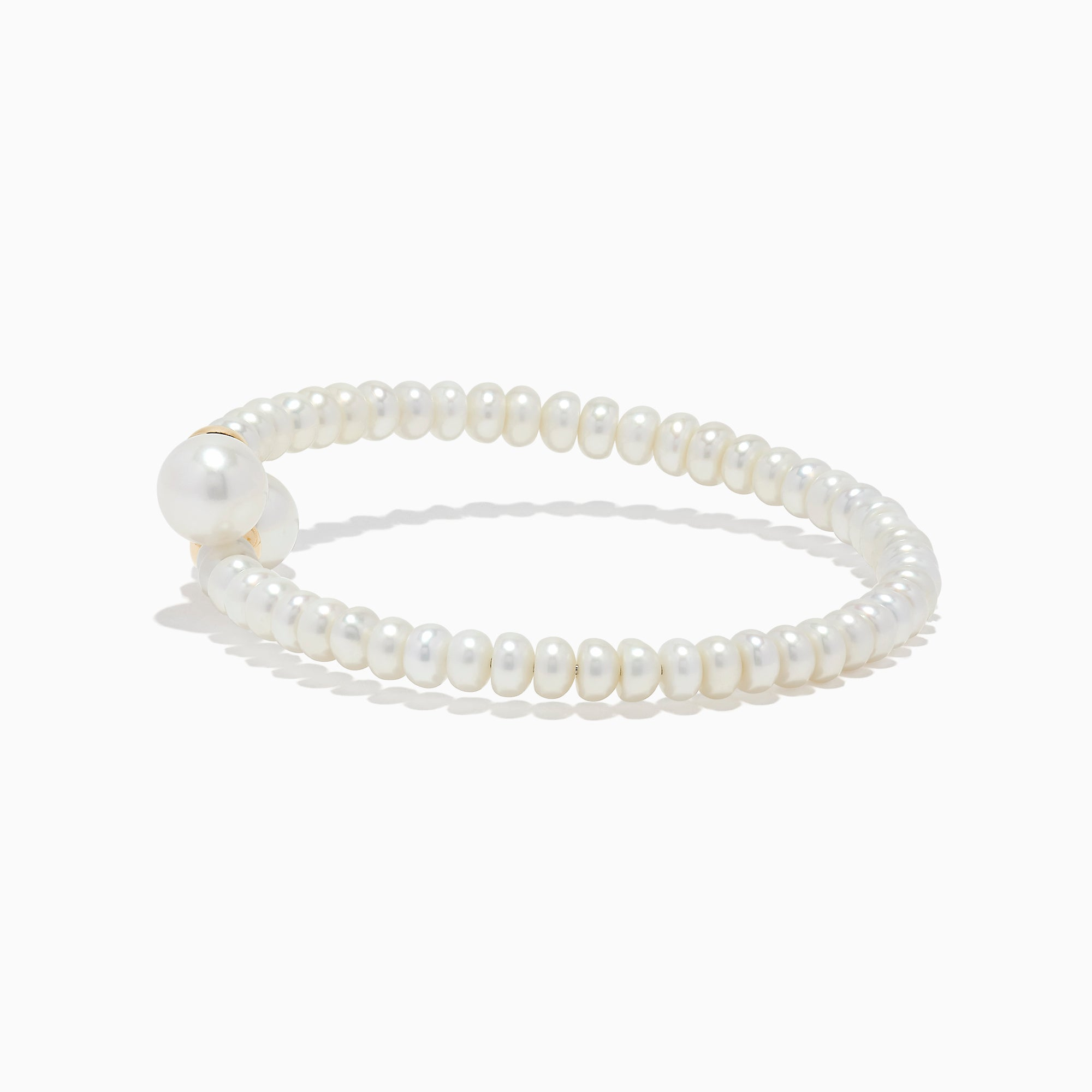 Effy 14K Yellow Gold Cultured Fresh Water Pearl Bangle