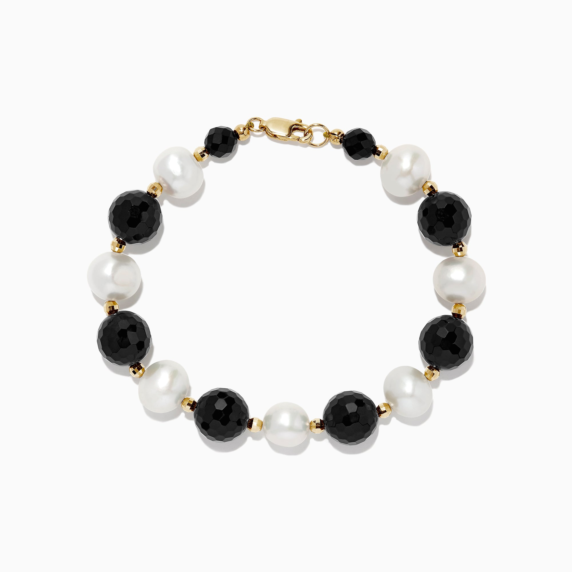 Effy 14K Yellow Gold Cultured Fresh Water Pearl Bracelet