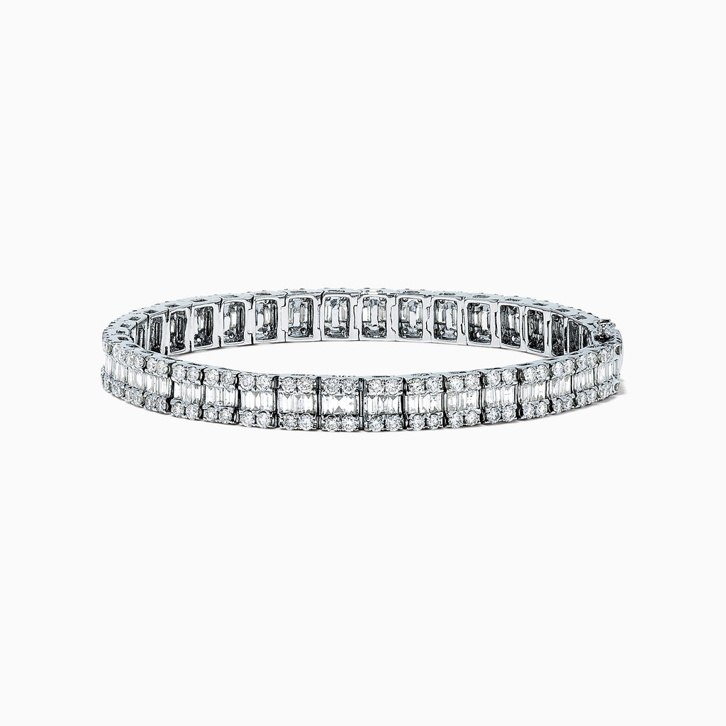 Effy Classique 14K White Gold Diamond Tennis Bracelet, 6.20 TCW