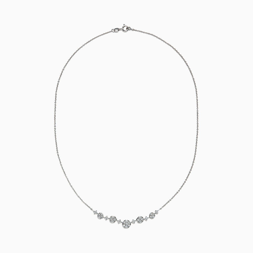 Effy 14K White Gold Diamond Necklace, 0.80 TCW