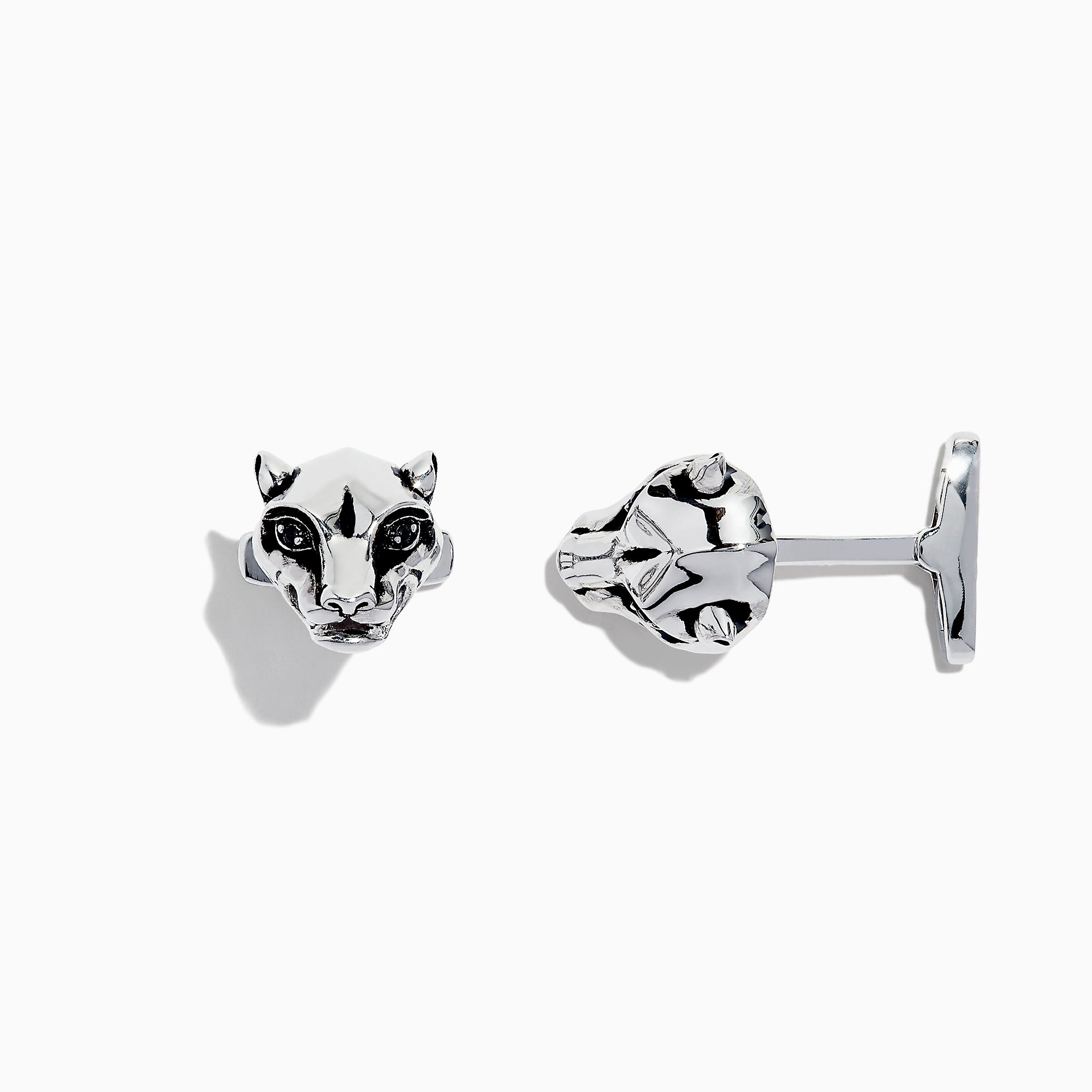 Effy Men's Sterling Silver Panther Head Cuff Links