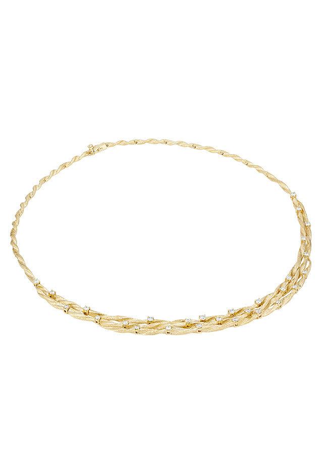 Effy D'Oro 14K Yellow Gold Diamond Necklace, 1.68 TCW