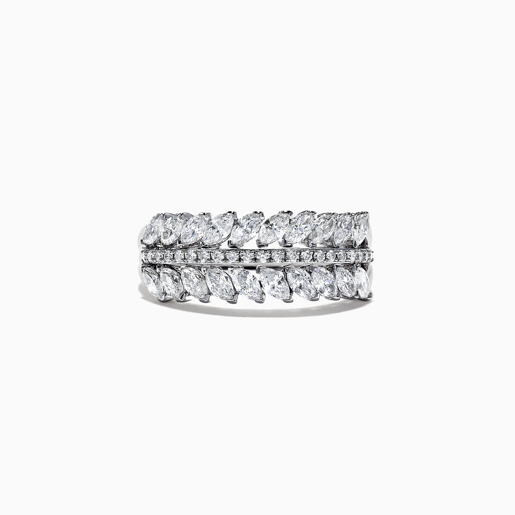 Effy Classique 14K White Gold Diamond Ring, 1.15 TCW
