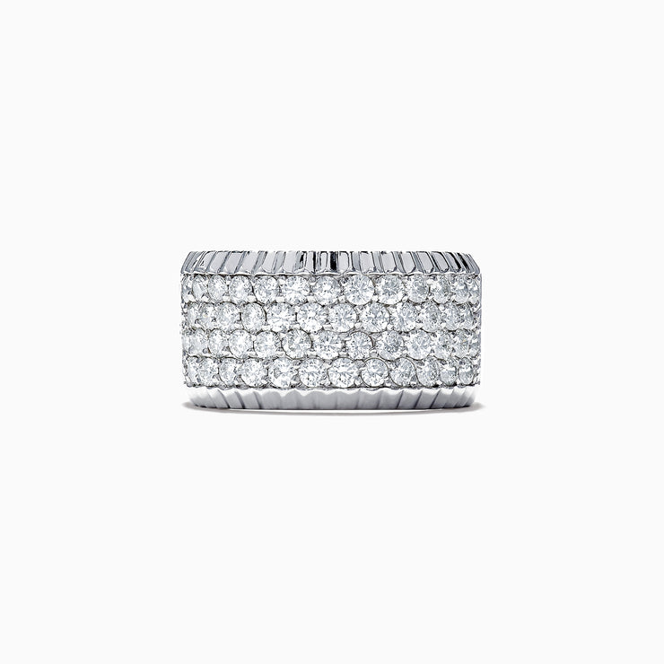 Effy 14K White Gold Diamond Pave Ring, 1.47 TCW