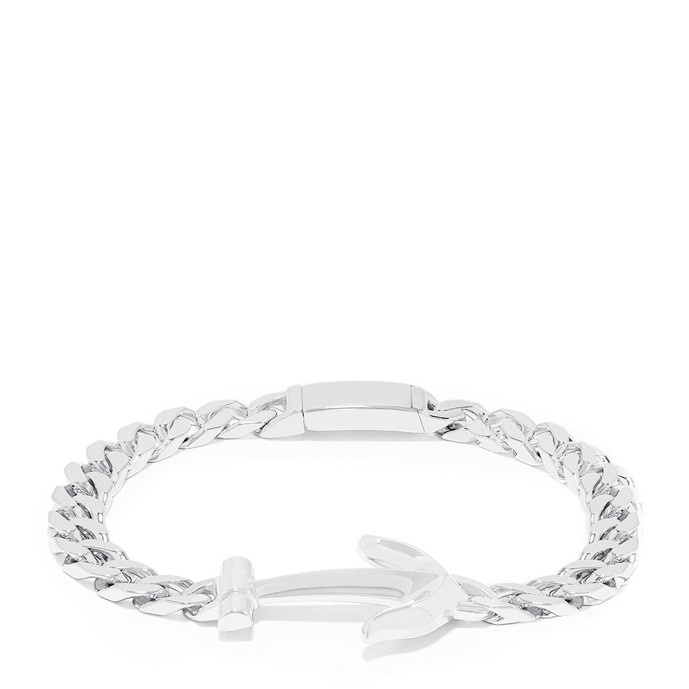 Effy Men's 925 Sterling Silver Anchor Bracelet
