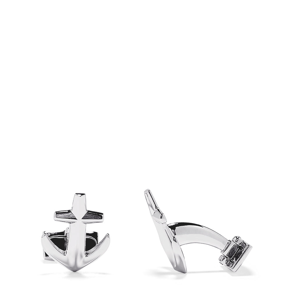 Effy Men's Sterling Silver Anchor Cufflinks